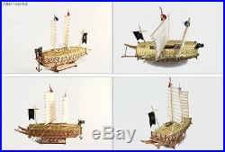 Wood Model Kit 1/100 scale Turtle ship Korean WarShip Keo-Book-Sun