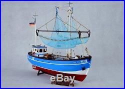 Wood ship kit scale 1/48 Pellworm crab fishing boat pel 256 wooden ship model