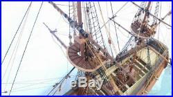 ZHL HMS Druid 1766 Scale 1/50 900mm 35.4 full rib Wood Model Ship Kit